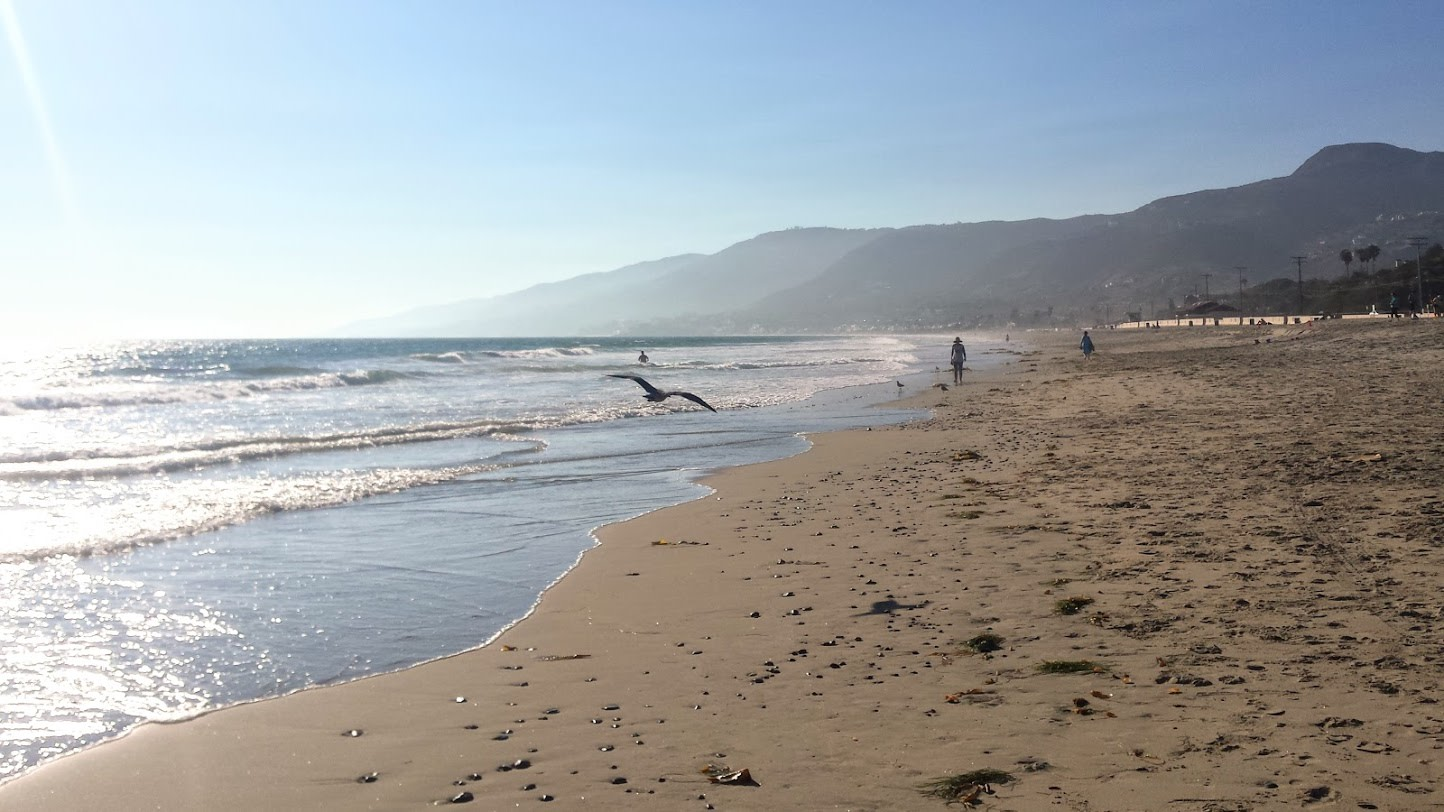 Zuma beach near Topanga Canyon Inn