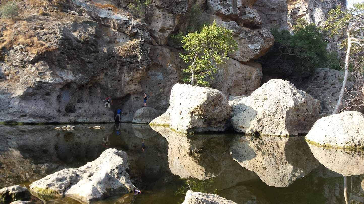 Rock Pool at Malibu Creek State Park near Topanga Canyon Inn