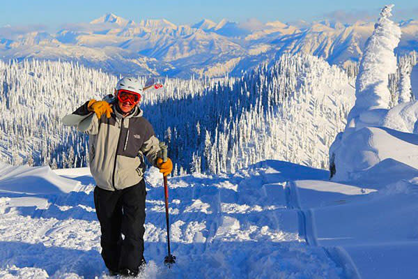 Ski Whitefish Mountain Resort and stay at Kandahar Lodge.