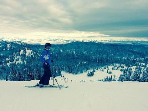 Love to ski