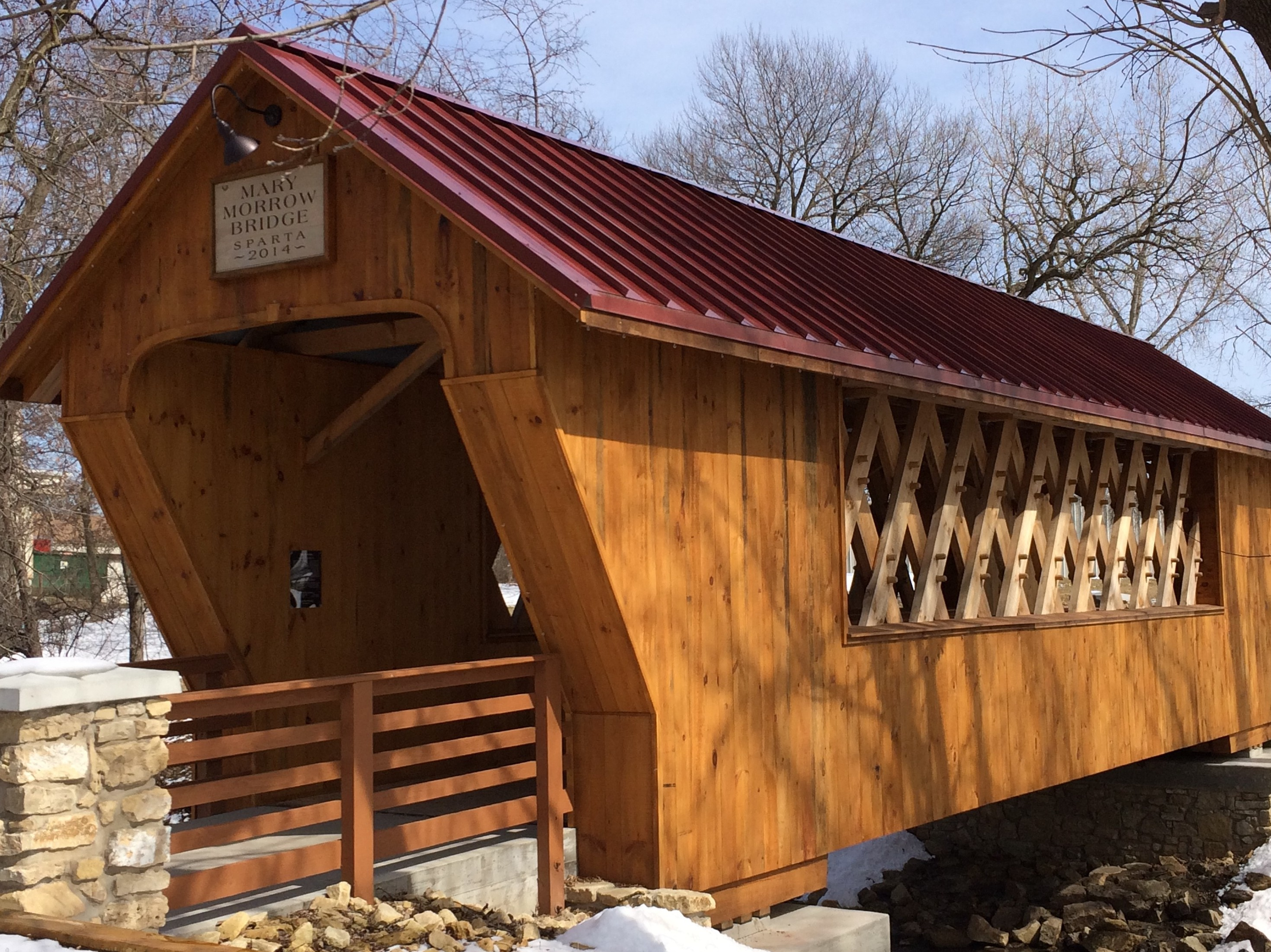 Mary Morrow Covered Bridge