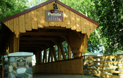 The Pointe Covered Bridge