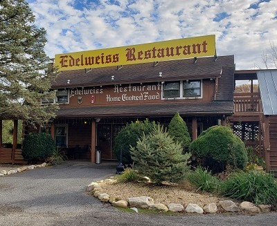 Edelweiss German restaurant in Staunton, Virginia