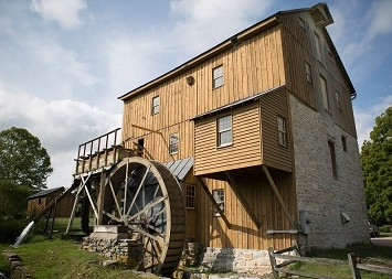 Gristmill of Wade's Mill in Raphine, Virginia
