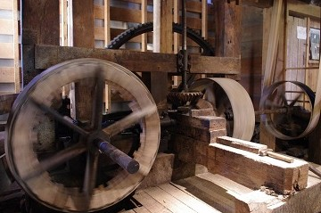 Wade's Mill's inner gears in motion