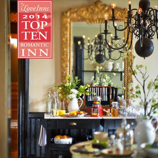 Top ten romantic inn