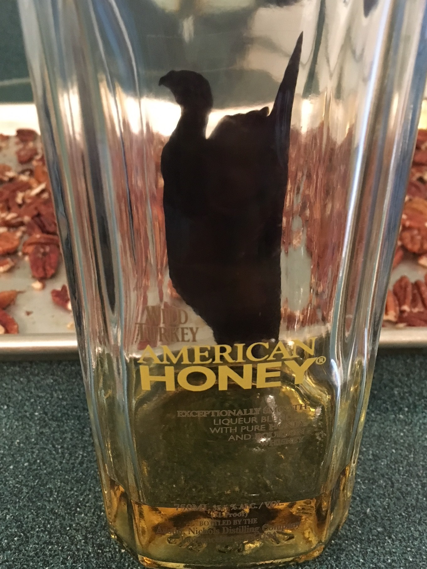 Wild Turkey American Honey bottle