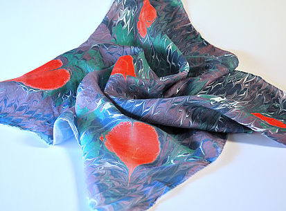 Majik Studios silk scarf
