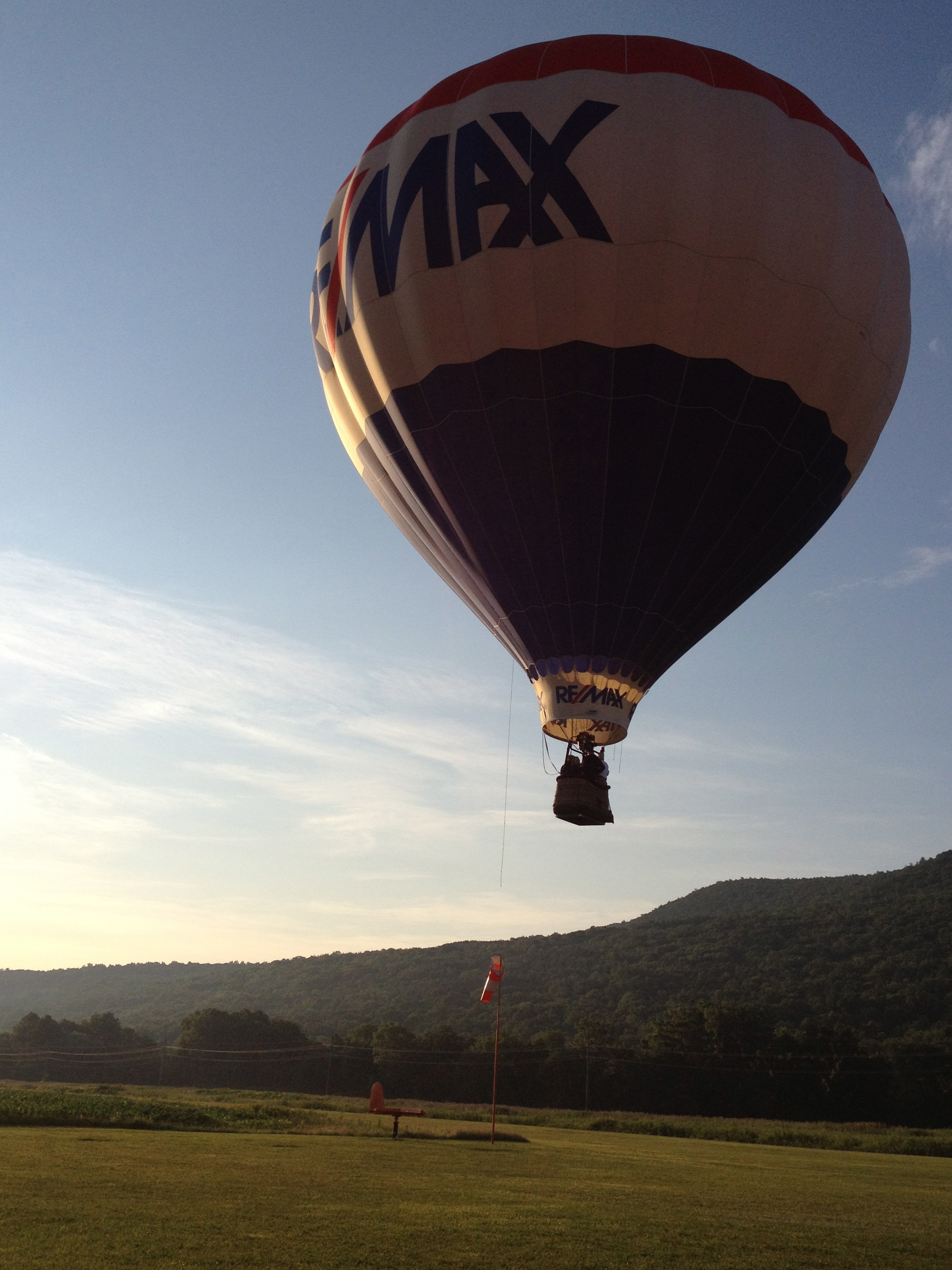 Hot Air Balloon in Hammondsport