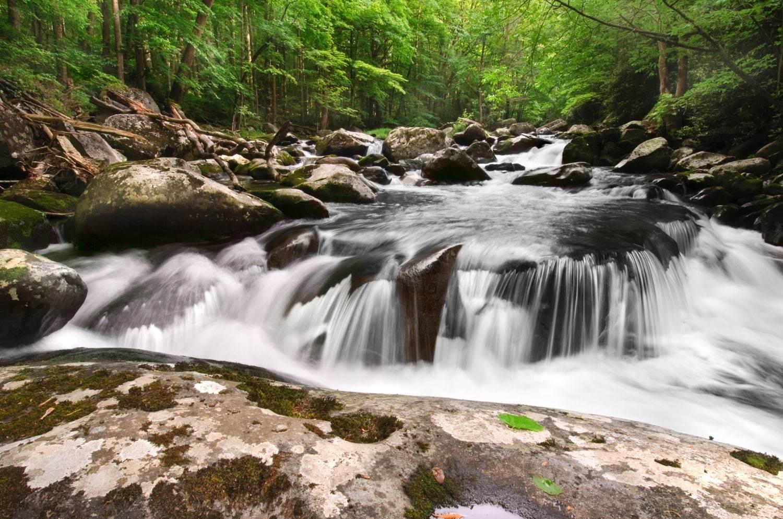 Waterfall rocky