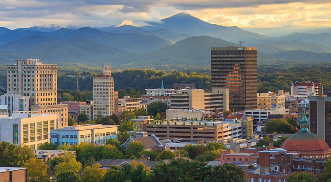 picture of downtown Asheville