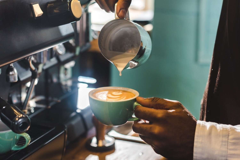 Asheville Coffee Latte
