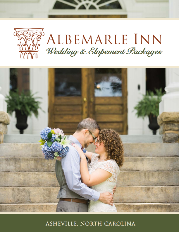 Romantic Wedding Venue In Asheville Nc Albermarle Inn