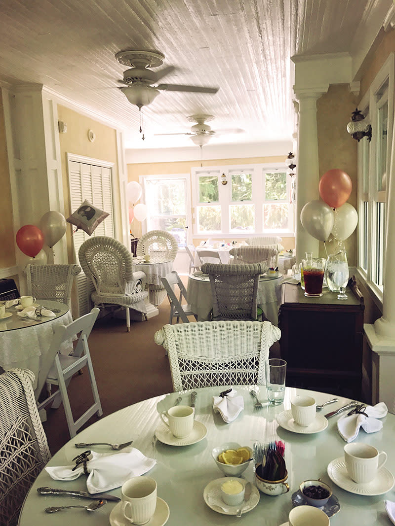 Afternoon Tea Private Events at Albemarle Inn