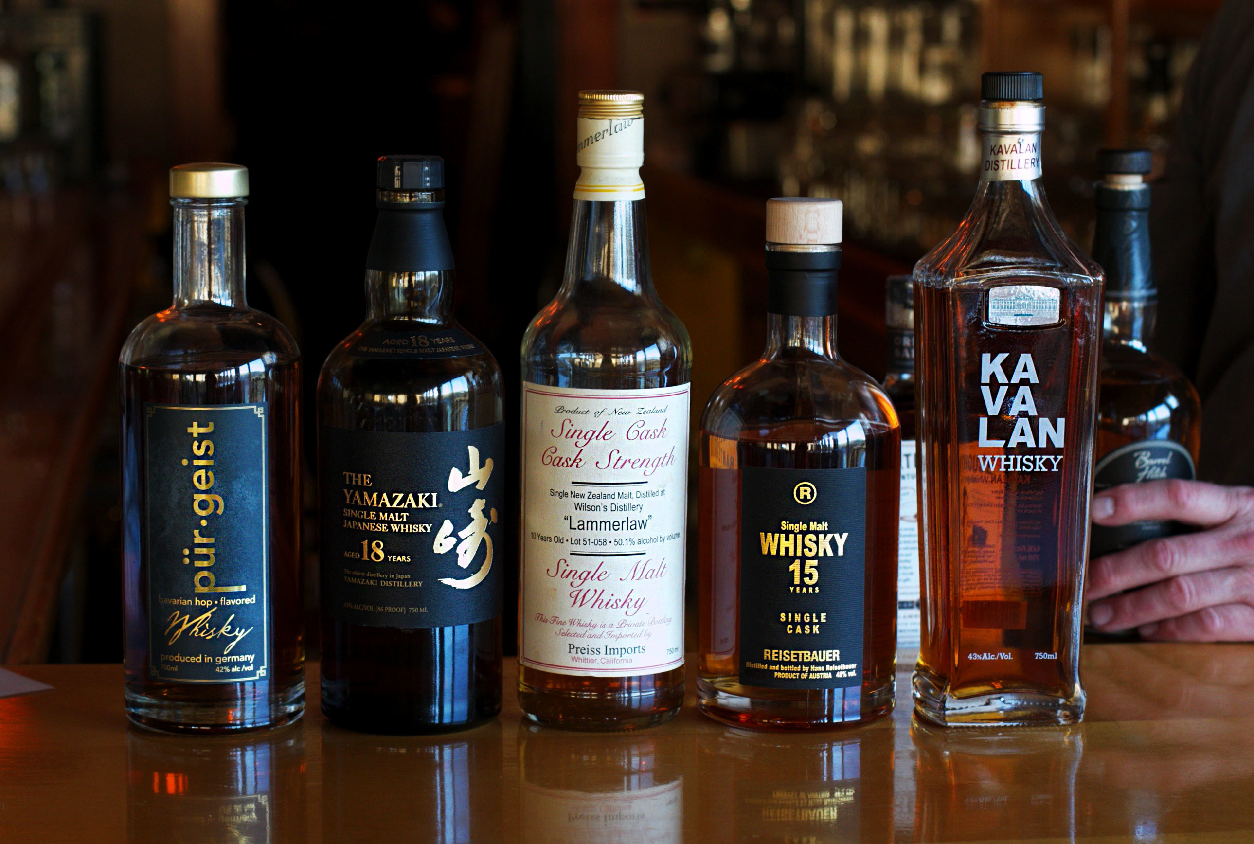 Albion River Inn Whiskey Bar Collection Mendocino California