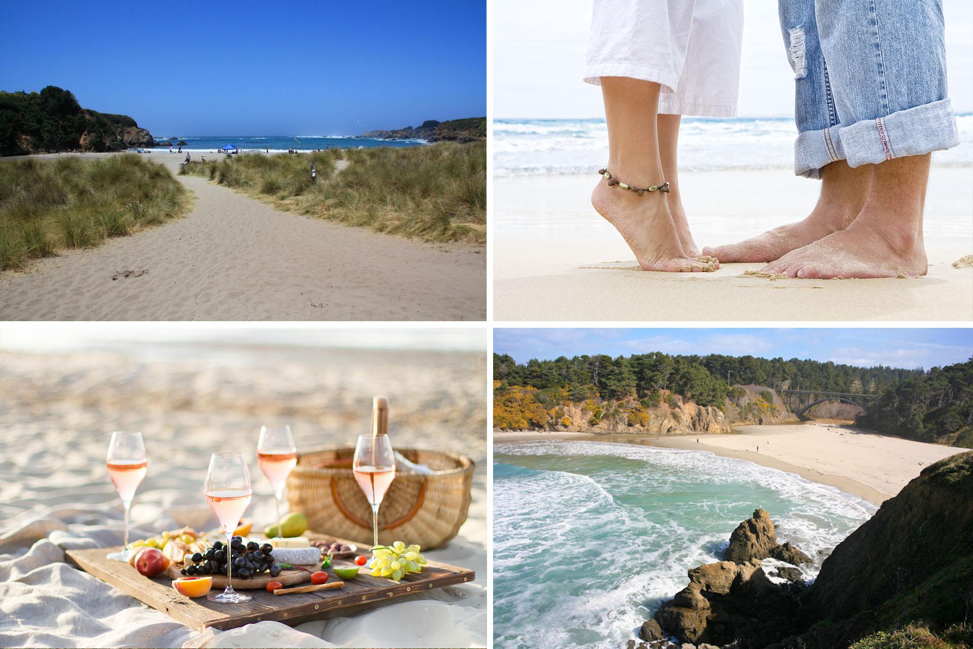 Mendocino Coast Romantic Beaches