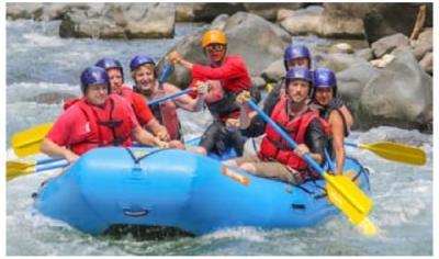 via rafting