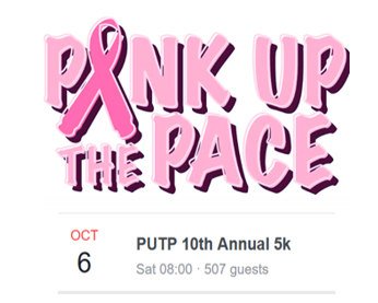 Pink Up The Pace St Aug 5k