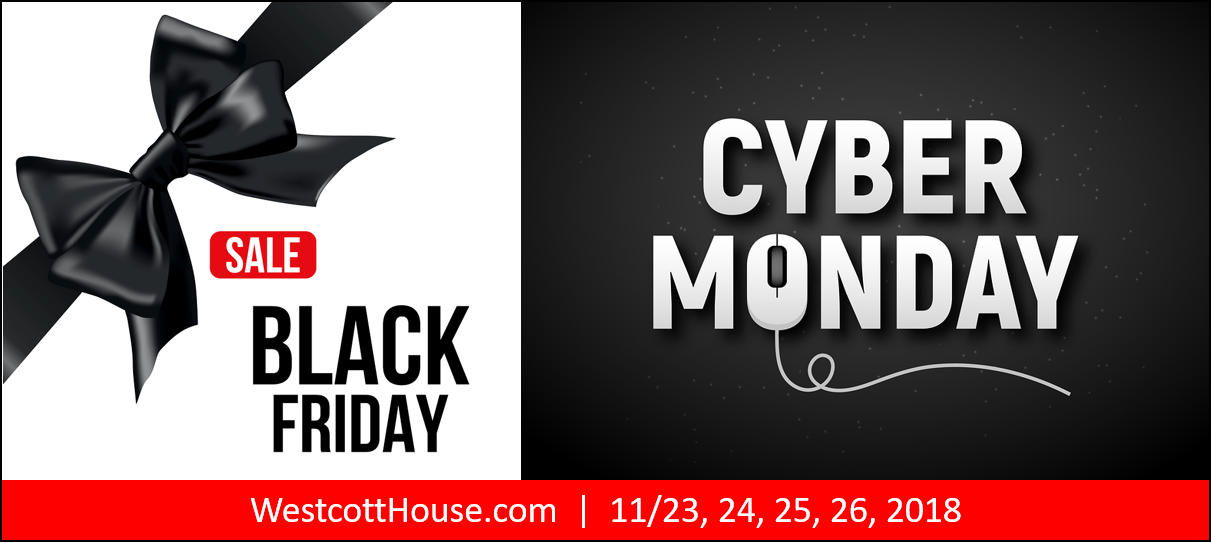 image advertising black friday cyber monday sale