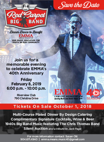 Emma Concerts Event poster for Feb 8