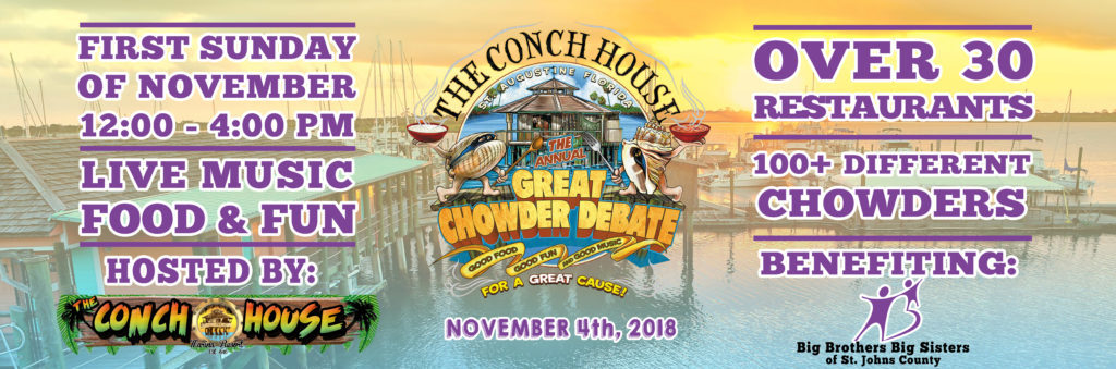 Image featuring chowder debate details for 2018
