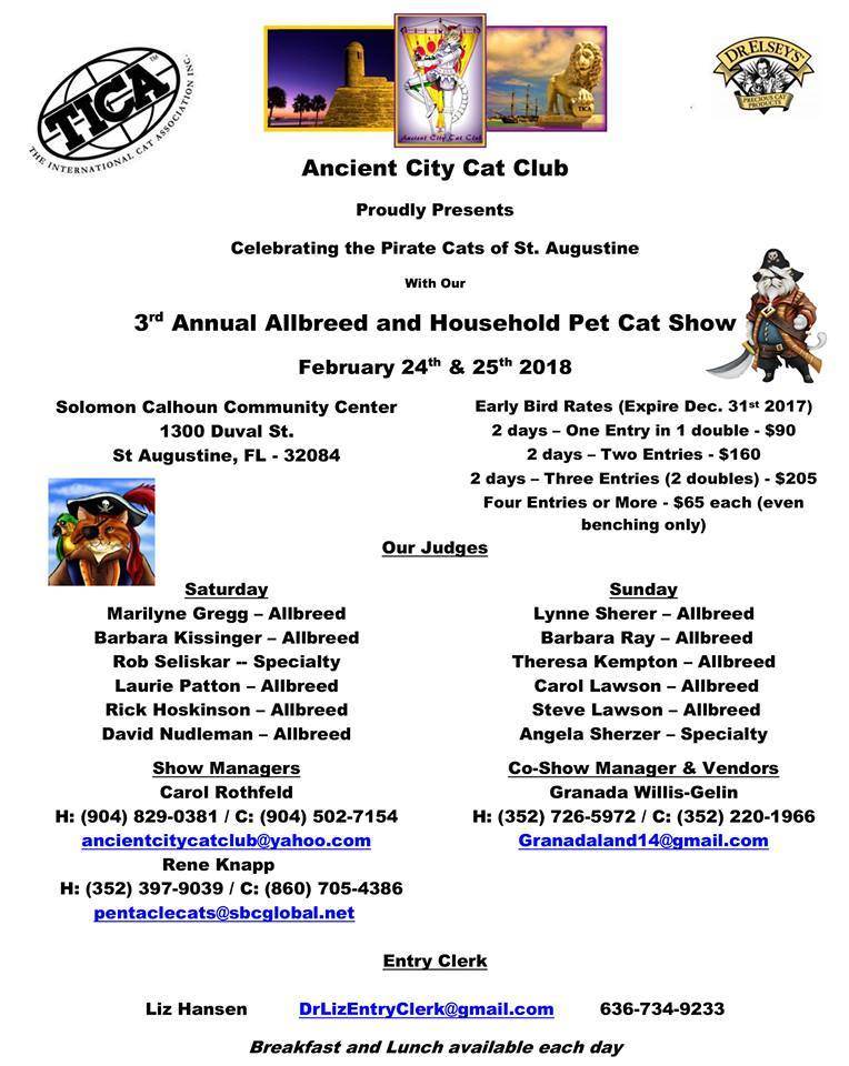 Ancient City Cat Show