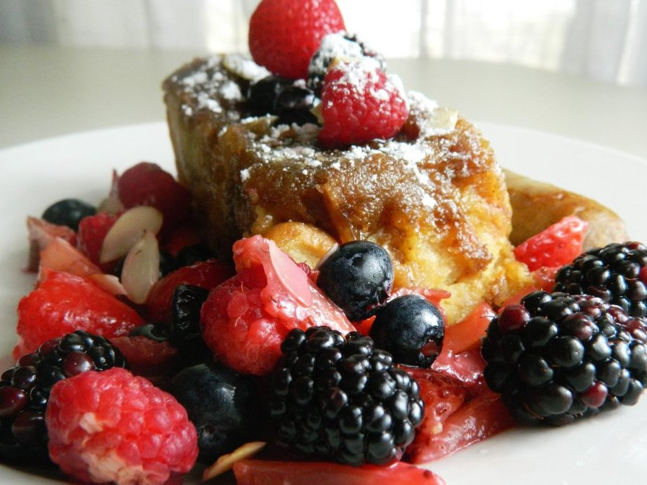 Our signature Baked French Toast