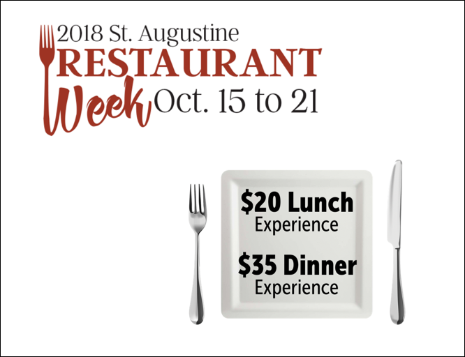 St Aug Restaurant Week