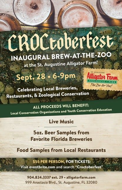 Crocktober Fest at St Aug Alligator Farm