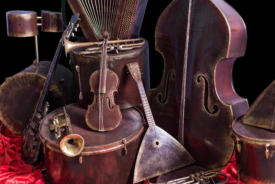Classical Music Festival Percussion Event