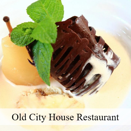 Desserts at Old City House Restaurant in St Augustine