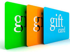 Buy your Gift Cards Now!
