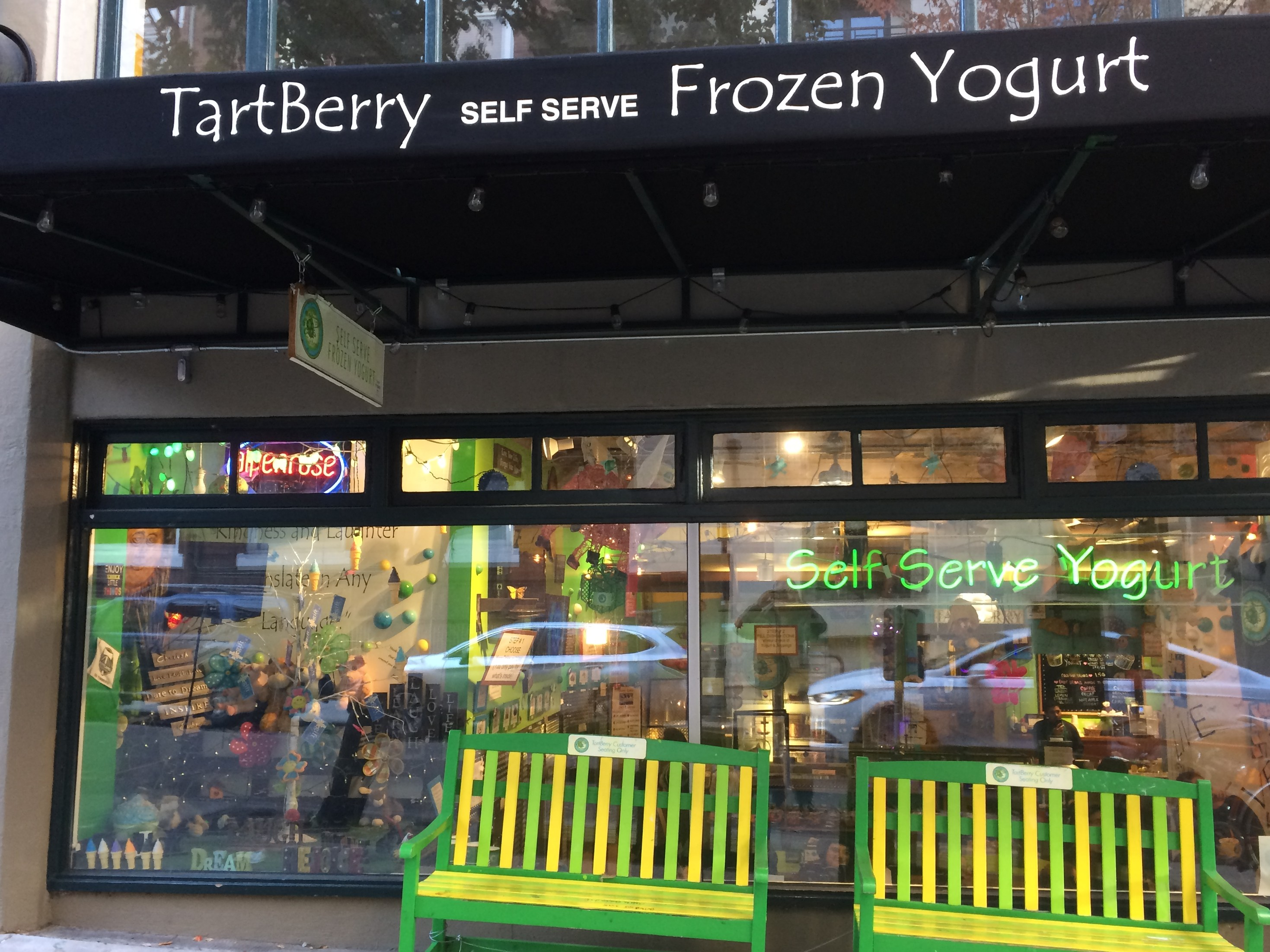 Exterior of Tartberry Frozen Yogurt