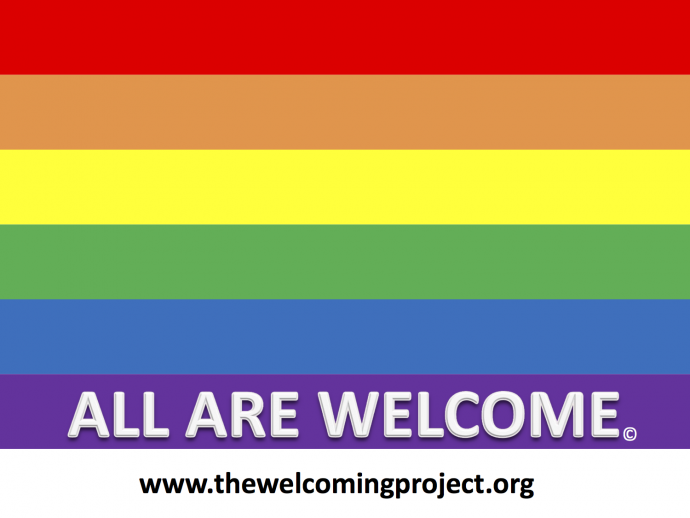 welcome project sign