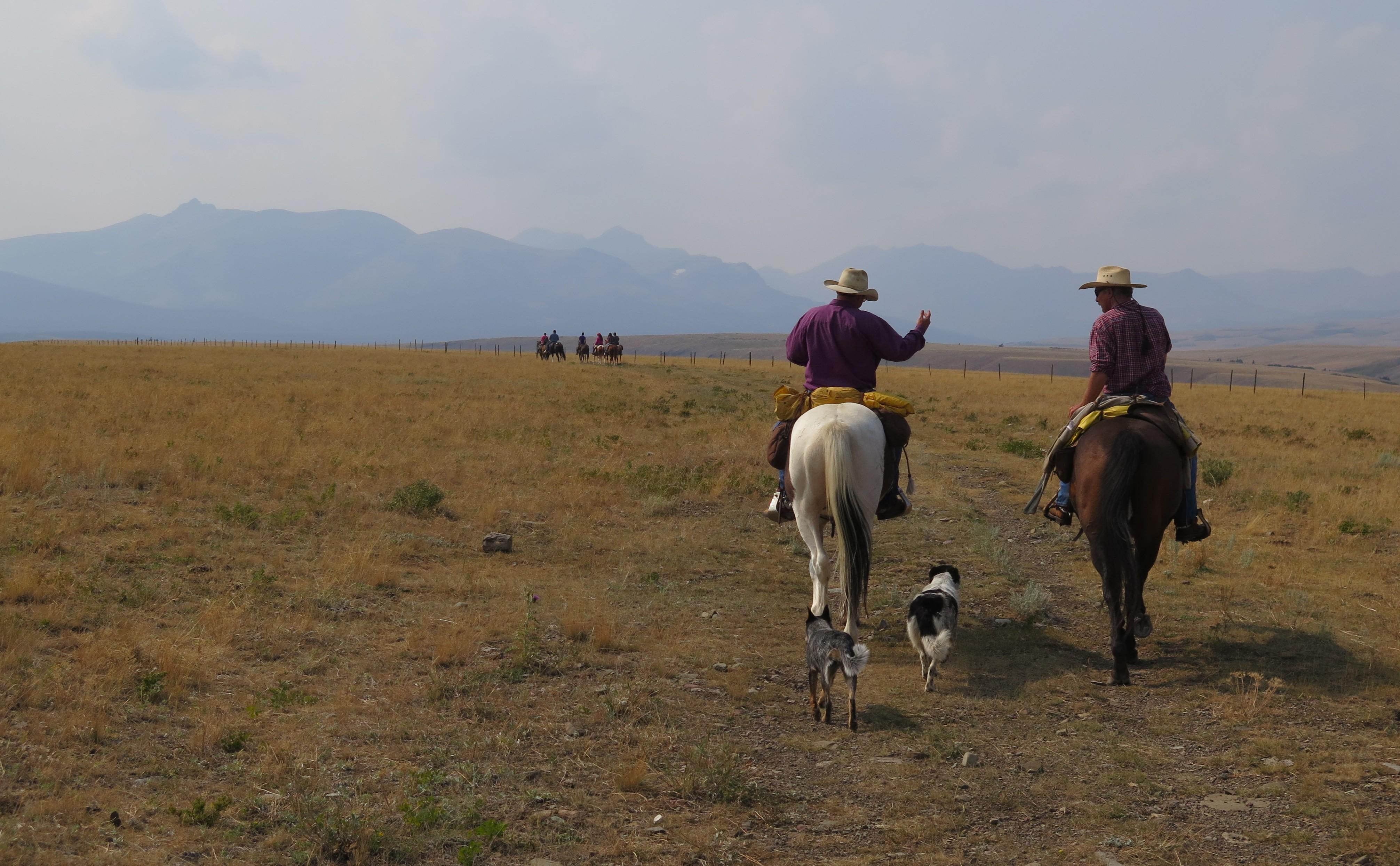 Bear Creek Guest Ranch Montana Glacier National Park Horsback Adventures