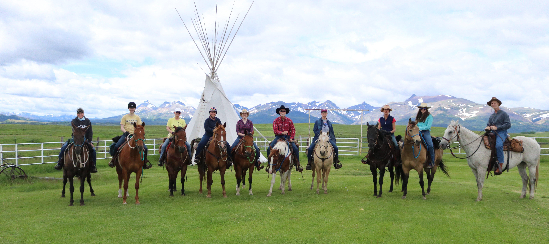 Montana Horseback Riding Vacations Bear Creek Guest Ranch