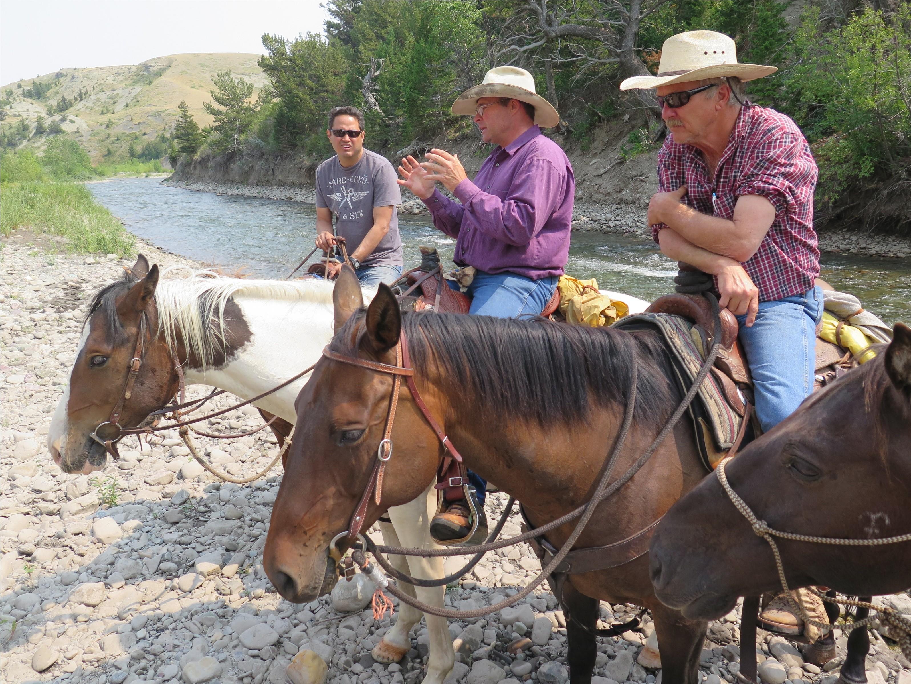 Horses Vacation Montana Adventure