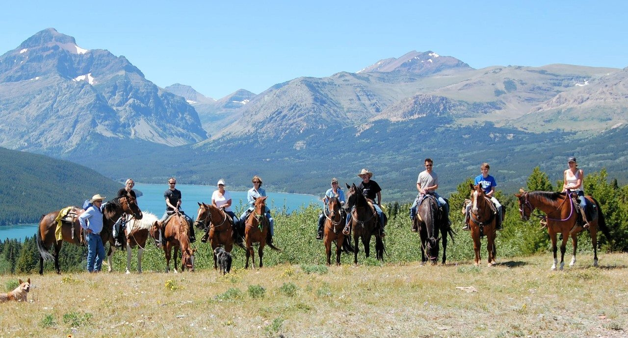 Horses Vacation Montana Ranch Glacier Park Bear Creek Guest Ranch
