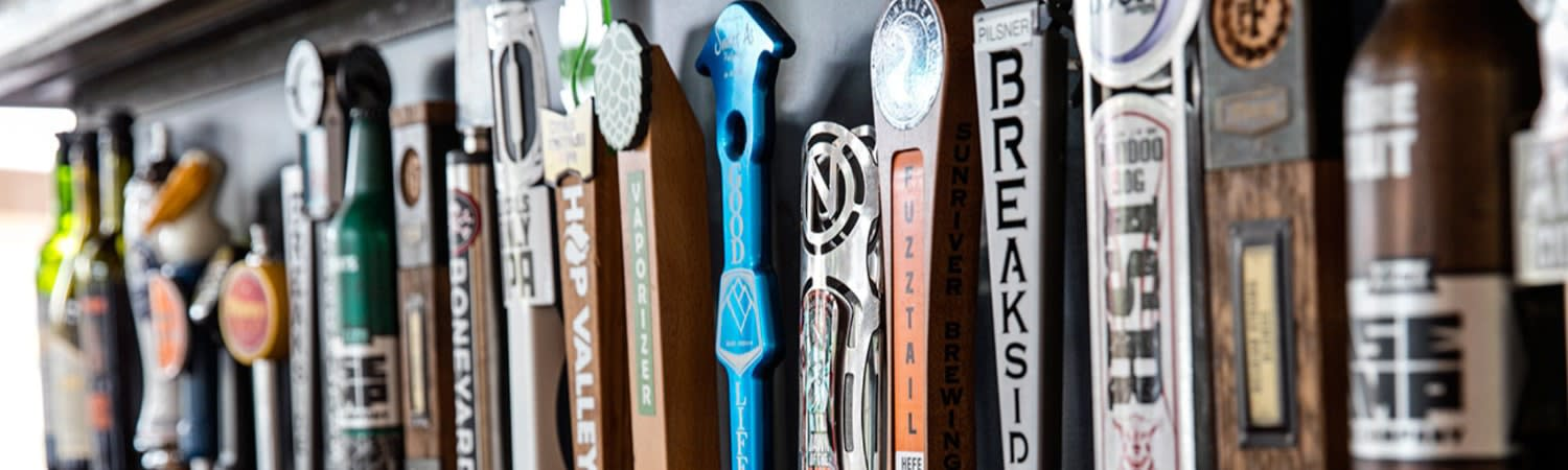 Tap Handles at Pacific