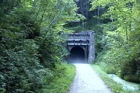 Elroy-Sparta State Trail Miles of Biking & 3 Tunnels