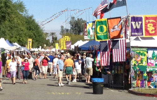 3 Great Street Fairs in the Palm Springs Area