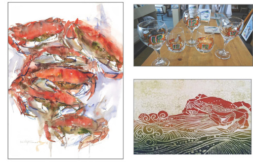 Dungeness crab art: Take home a piece of the coast