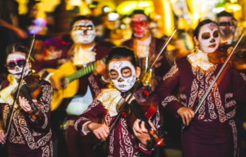 Tucson's All Souls Procession  November 5th 2017 is not to be missed!