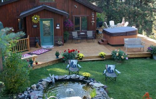 Green Summer in St. Ignatius, MT, Bear Spirit Lodge B&B