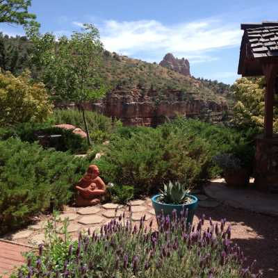 peaceful relaxation at sedona views b&b