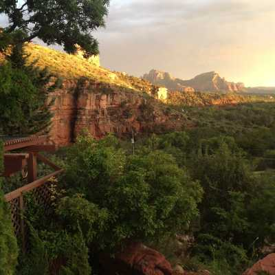 panoramic view from sedona views b&B