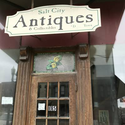 Near-by antique store