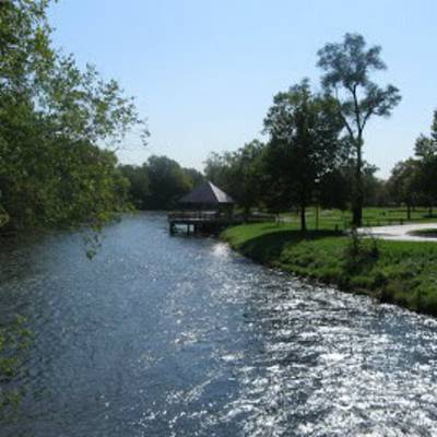 Huron River at Riverside Park