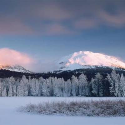 Lassen Park in the Winter