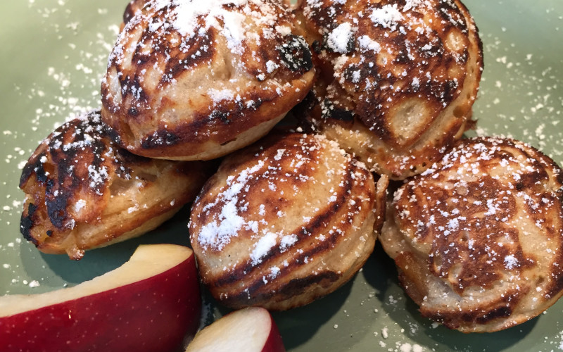 Aebleskivers at the Old Parkdale Inn Bed and Breakfast